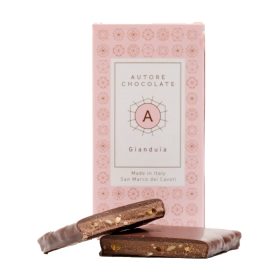 Gianduia chocolate bar...