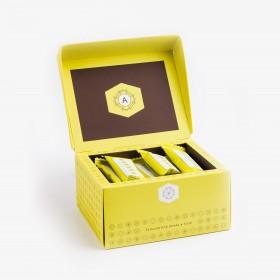 Croccantino Honey & Figs chocolate bar   paper box 300g -  10,58 oz