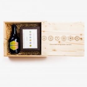 Wooden gift box - Kraft...