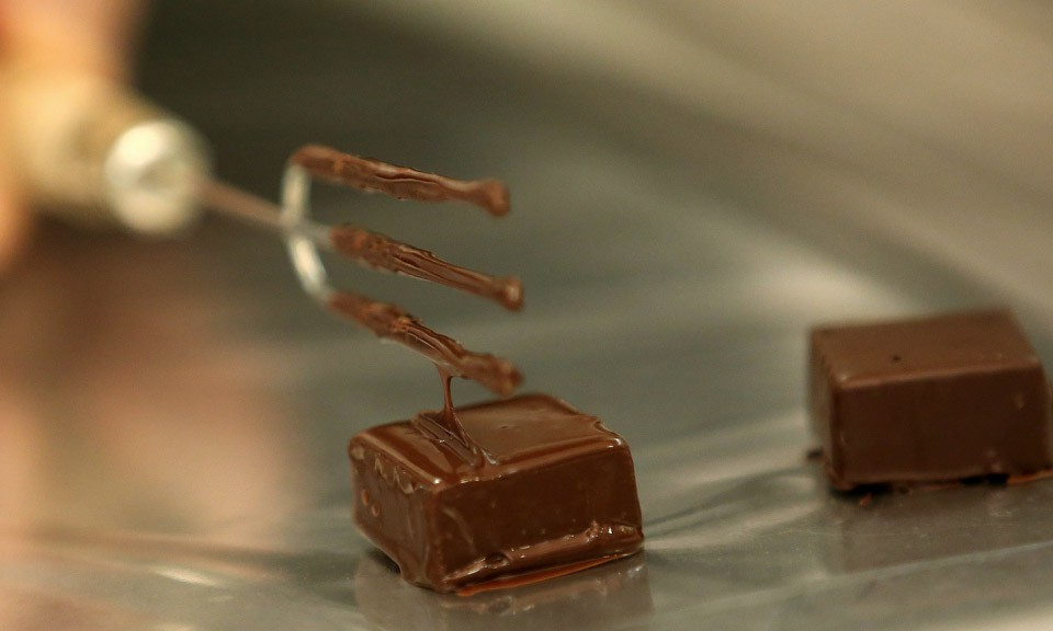 The shapes of chocolate: powder, drink, spread…